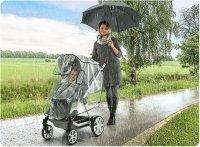 RainCover Active Regenschutz für Buggys und Sportwagen