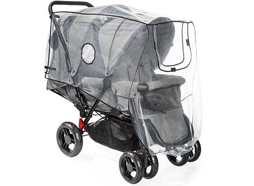 RainCover Duo Regenschutz für Geschwisterkinderwagen