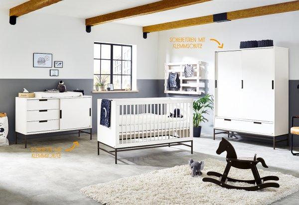 Babyzimmer Steel groß