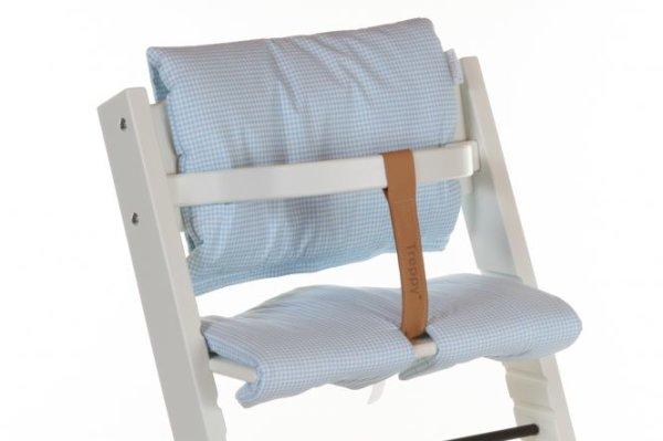 Cushion Pepita Blue