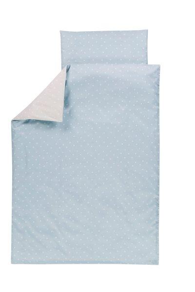 Bettwäsche 100x135 Shell Blau