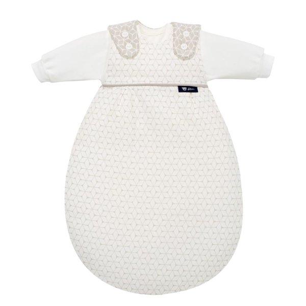 Baby-Mäxchen 3tlg. Graphic Taupe 50/56
