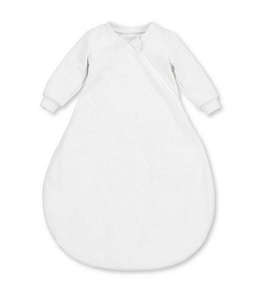Baby-Innenschlafsack Weiß 50cm