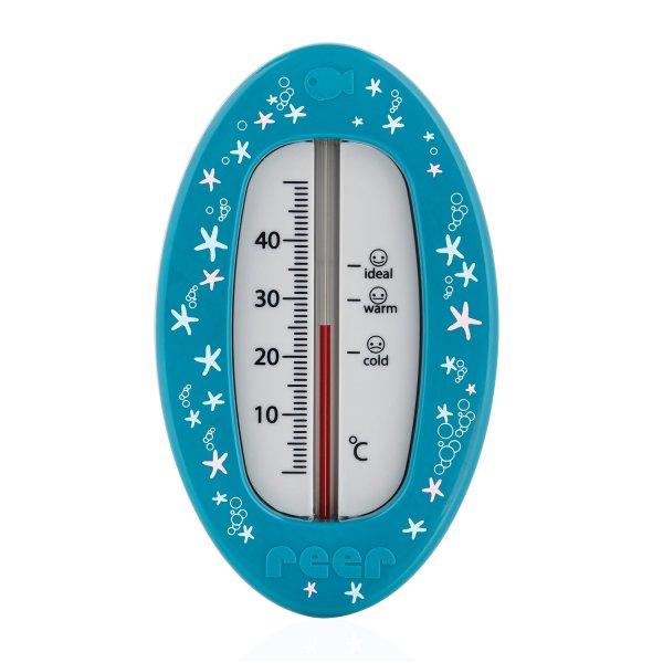 Badethermometer Oval Blau