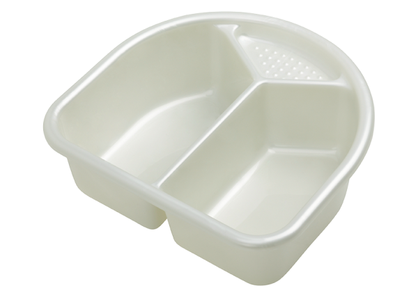 Waschschüssel TOP Perlweiß Creme