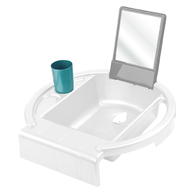Kiddy Wash Weiß/Stone Grey/Lagoon