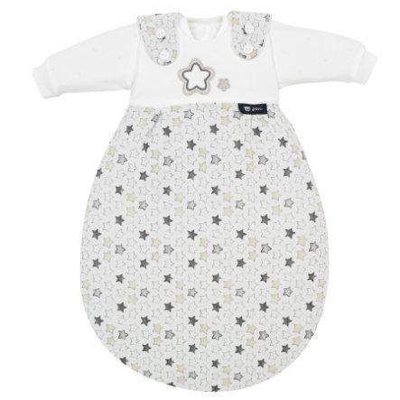 Baby-Mäxchen 3tlg. Stern&Sternchen Grau 56/62
