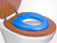 WC-Kindersitz Soft Blau