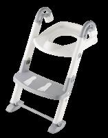 Toilettentrainer Silbergrau/Weiß