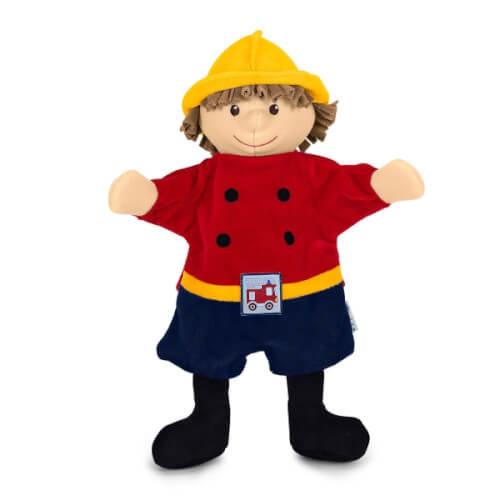 Feuerwehrmann Handpuppe