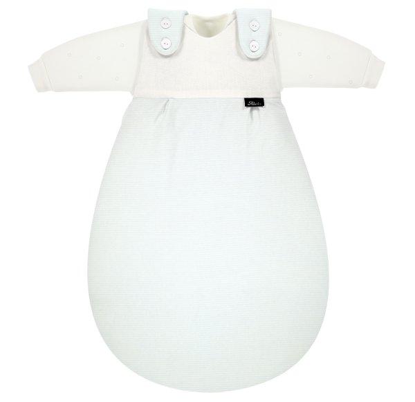 Baby-Mäxchen 3tlg. Bleu Stripe 56/62