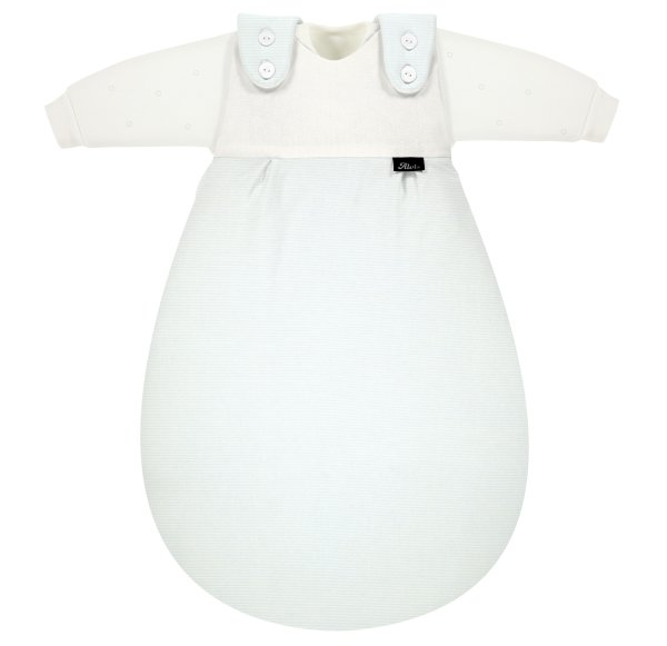 Baby-Mäxchen 3tlg. Bleu Stripe