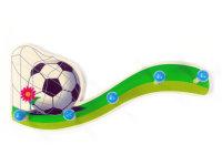 Garderobe Fußball