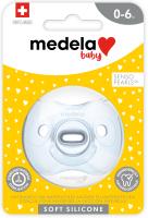 Baby Soft Silicone 0-6 UNO hellblau