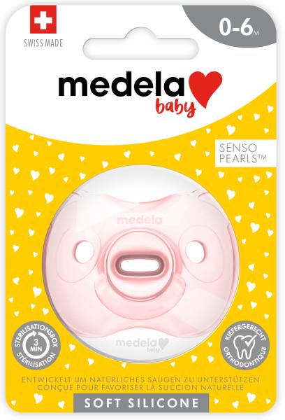 Baby Soft Silicone 0-6 UNO hellrosa