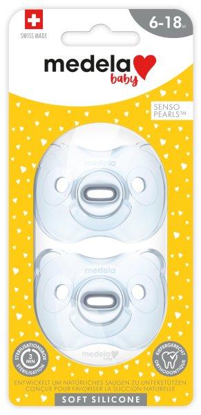 Baby Soft Silicone 6-18 DUO hellblau