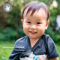 Baby Schnullerkette türkis