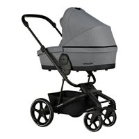 Harvey3 Carrycot Fossil Grey