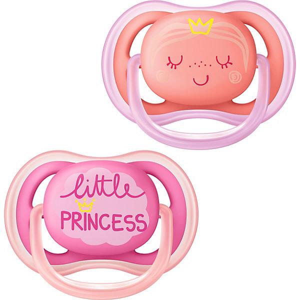 Ultra Air Schnuller 6-18 M. Little Princess