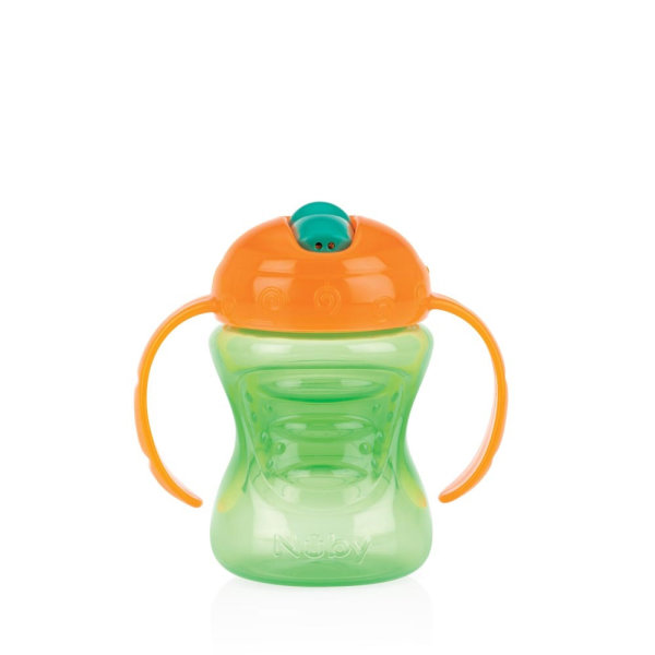 Trinklerntasse 240ml Orange/Grün