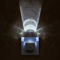 LED-Nachtlicht mit Ein- und Ausschalter