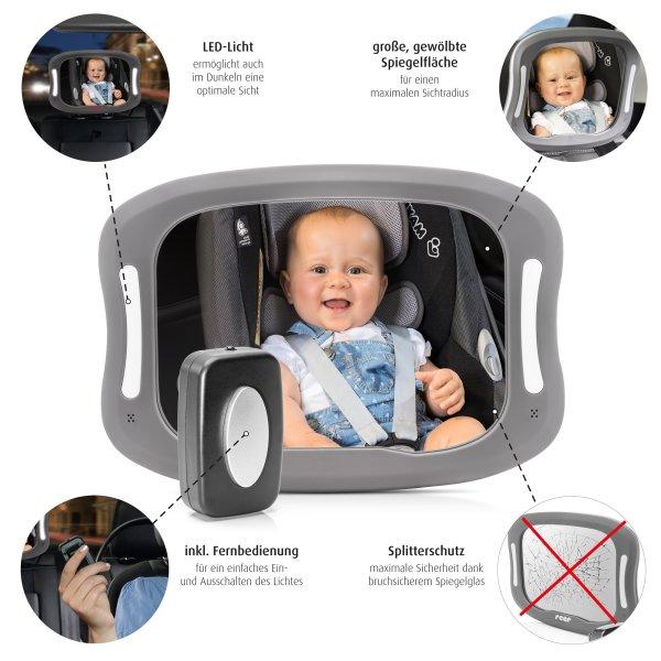 BabyView LED Auto-Sicherheitsspiegel mit Licht