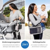 Clip&Go Vario Kinderwagenorganizer